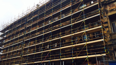 Scaffolding Hire in Glasgow is More Affordable than You Think