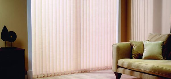 Vertical Blinds in Glasgow are an Ideal Option for Large Windows and Sliding Doors