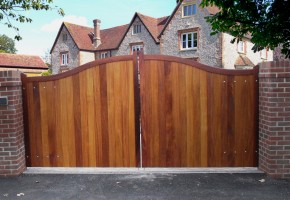 How to Ensure Your Property is Secure with a Stylish Wooden Gate